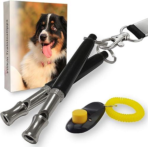 Villkin-2X-Hundepfeife-mit-Einstellbarer-Frequenz