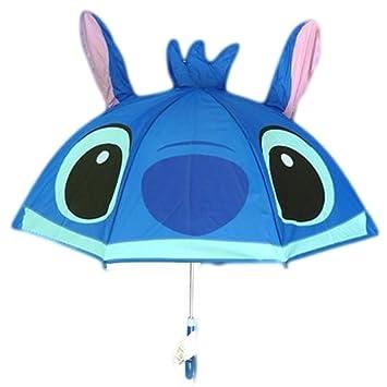 Auténtico Disney Lilo y Stitch paraguas para niños.