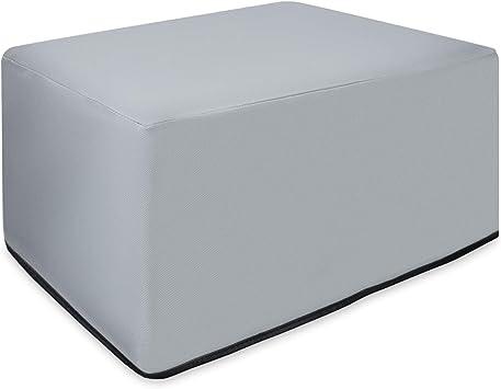 Kwmobile Hülle Kompatibel Mit Hp Officejet 3831 Drucker Staubschutzhülle Schutzhaube Schutzhülle Hellgrau Bürobedarf Schreibwaren