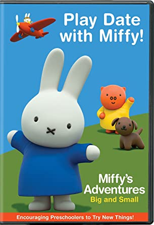 Miffy's Adventures Big and Small: Play Date with Miffy! DVD
