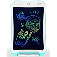 VSON Colorful Blue 10 inch LCD Writing Tablet Drawing Tablet Pad Electronic Writing Board for Kids and Adults Using at…