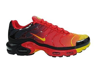 ytvbu Nike Men\'s - Air Max Plus Nike Tuned 1 TN Txt *RARE* - Red Yellow