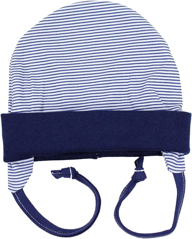 TupTam Baby Erstlingsm/ütze mit Ohrenklappen 2er Pack