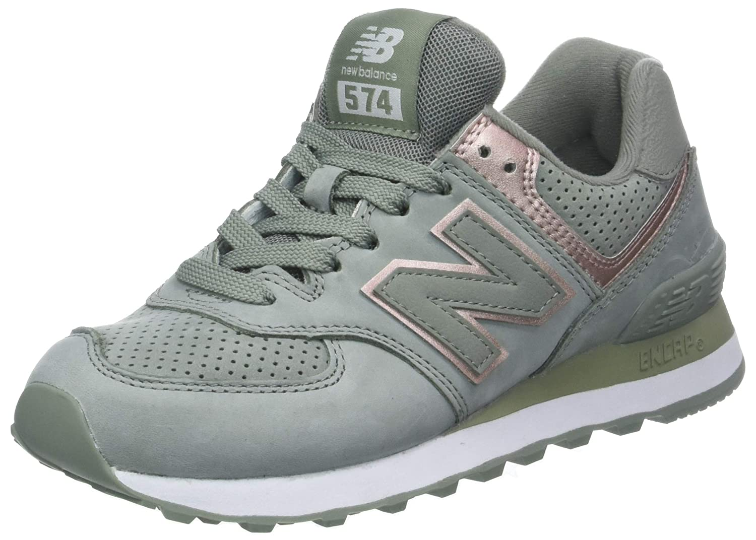 New Balance Femme Wl574, Bottes Classiques Femme Metallic Gris (Brown B00DDPR2CS Seed/Champagne Metallic Nbl) 0ca0382 - boatplans.space
