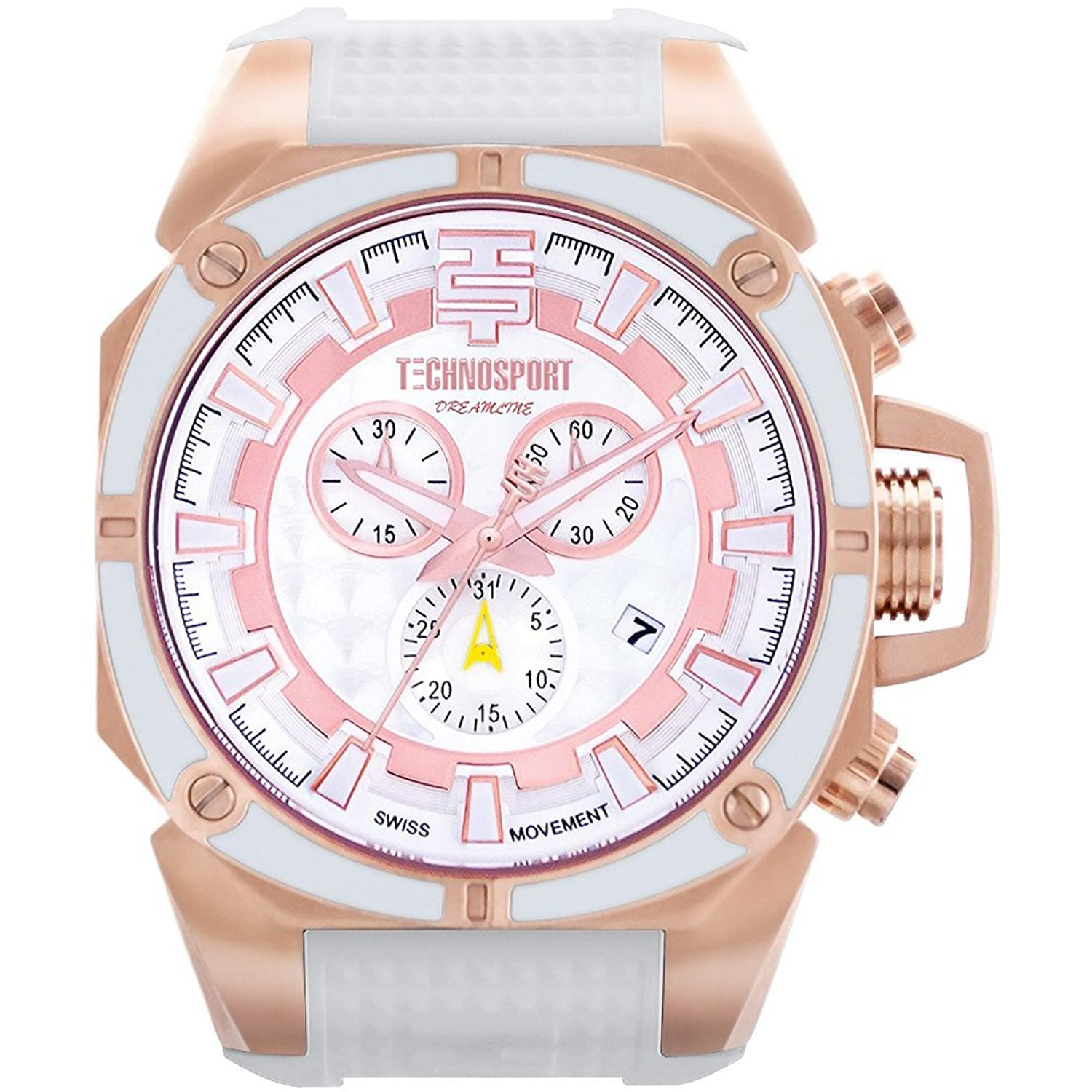 TechnoSport Unisex Chrono Uhr - DREAMLINE rose gold