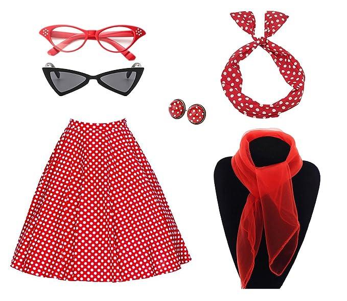 Amazon.com: Juego de accesorios de disfraz para mujer de los ...