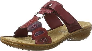 Rieker Damen 608r4 Pantoletten: : Schuhe & Handtaschen jq2QP