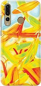 Stylizedd Huawei Nova 4 Slim Snap Basic Case Cover Matte Finish - Pastel Petals