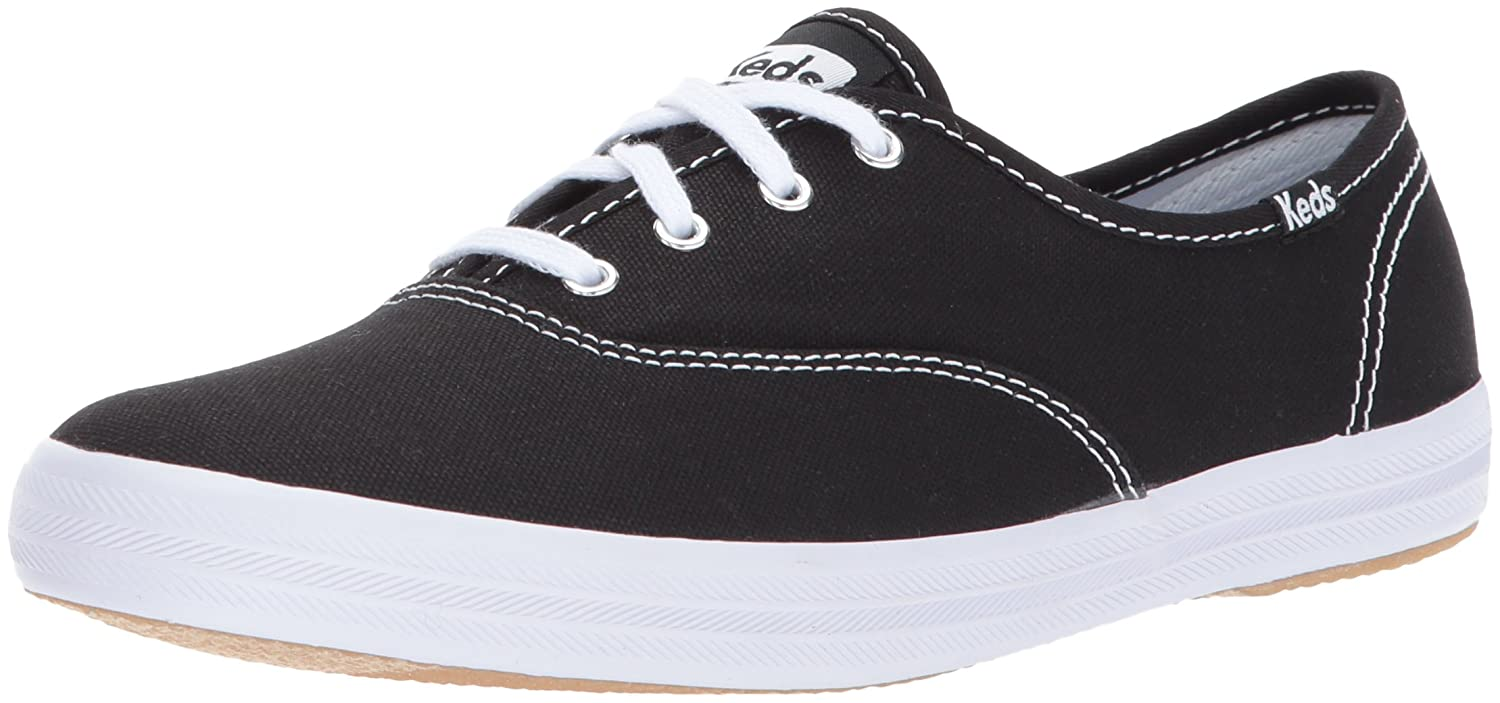 Keds Champion Core Text-Black/White, Sneakers Basses Femme WF34100
