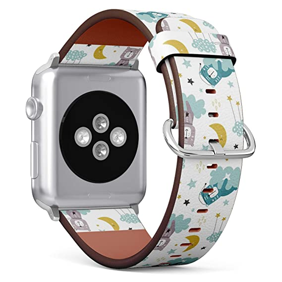 Amazon.com: Compatible with Apple Watch 38mm & 40mm Leather ...
