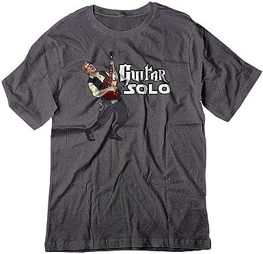 Star Wars Han Solo Funny Men T-shirt Ringer Cotton black Short Sleeve Tops Tee