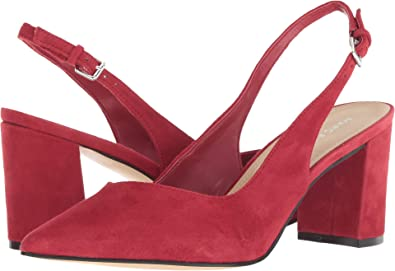 d45dd93a436 Marc Fisher LTD Women s Catling 2 Red Suede 6 ...