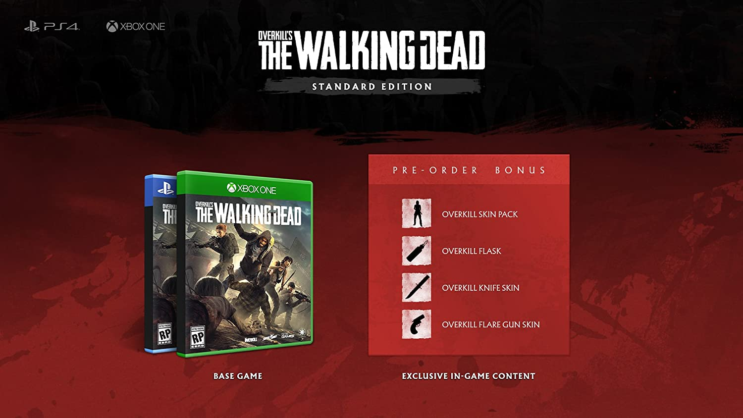 Overkills the Walking Dead for PlayStation 4 [USA]: Amazon.es: 505 Games: Cine y Series TV