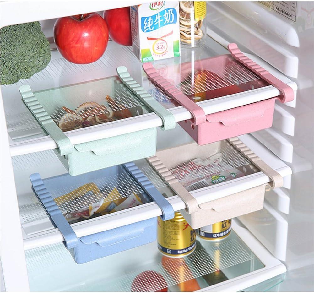 Organizador del refrigerador Estante del ahorrador de espacio ...