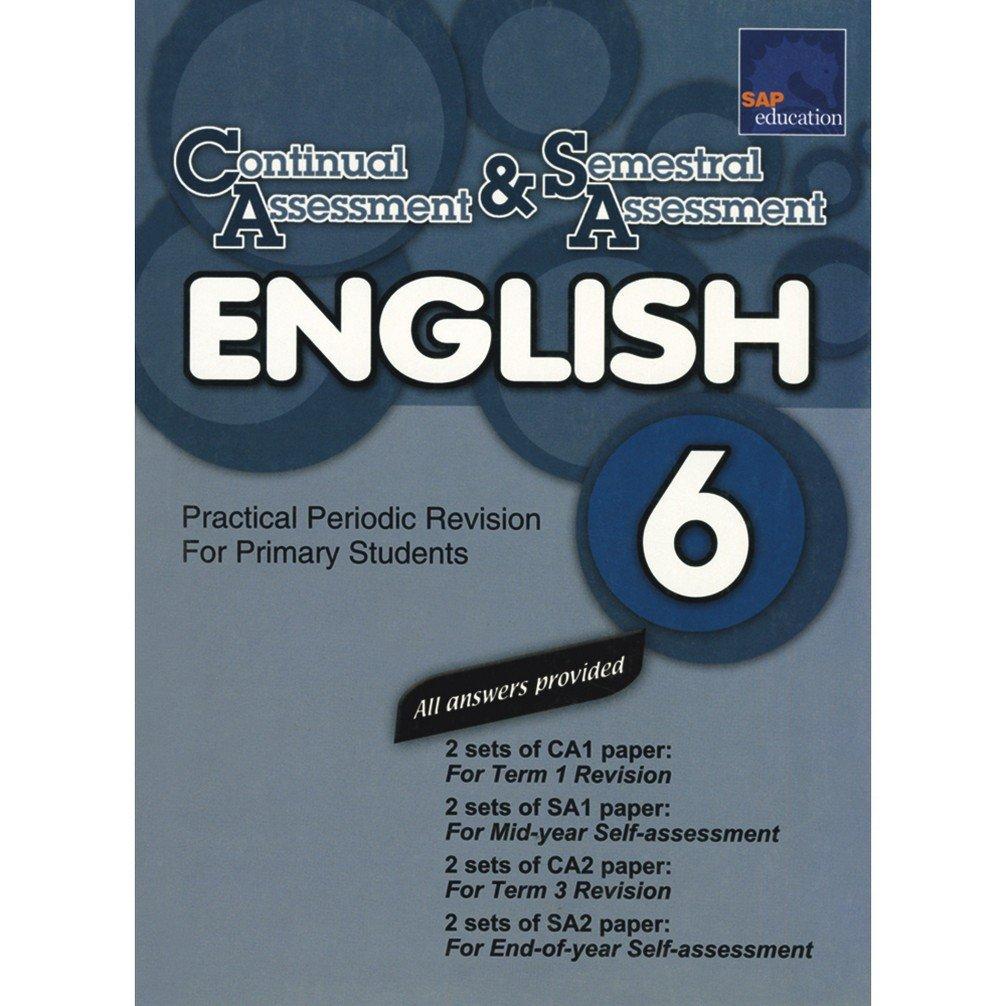 Read Online CA & SA ENGLISH 6 pdf epub