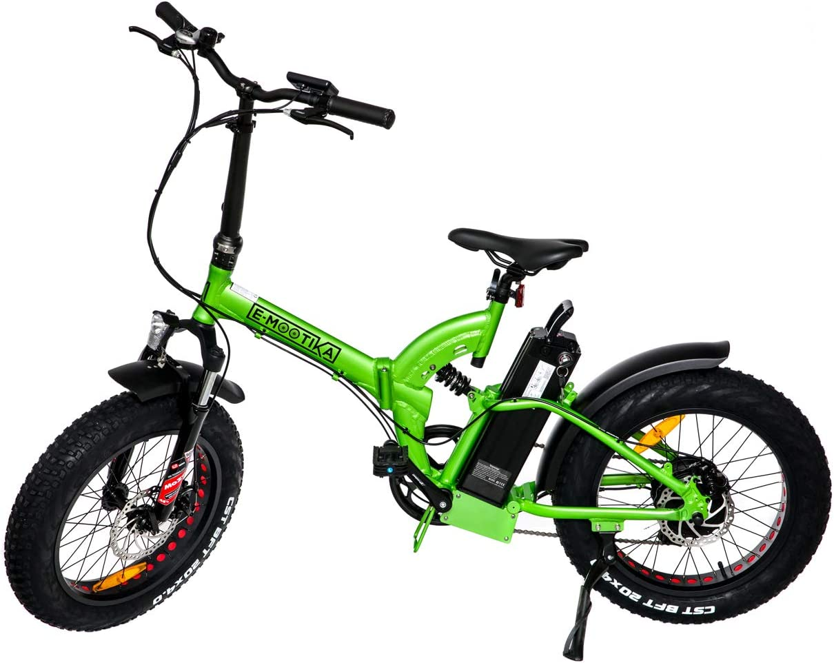 Mini Fat E-Bike plegable Emootika con ruedas de 20 pulgadas ...