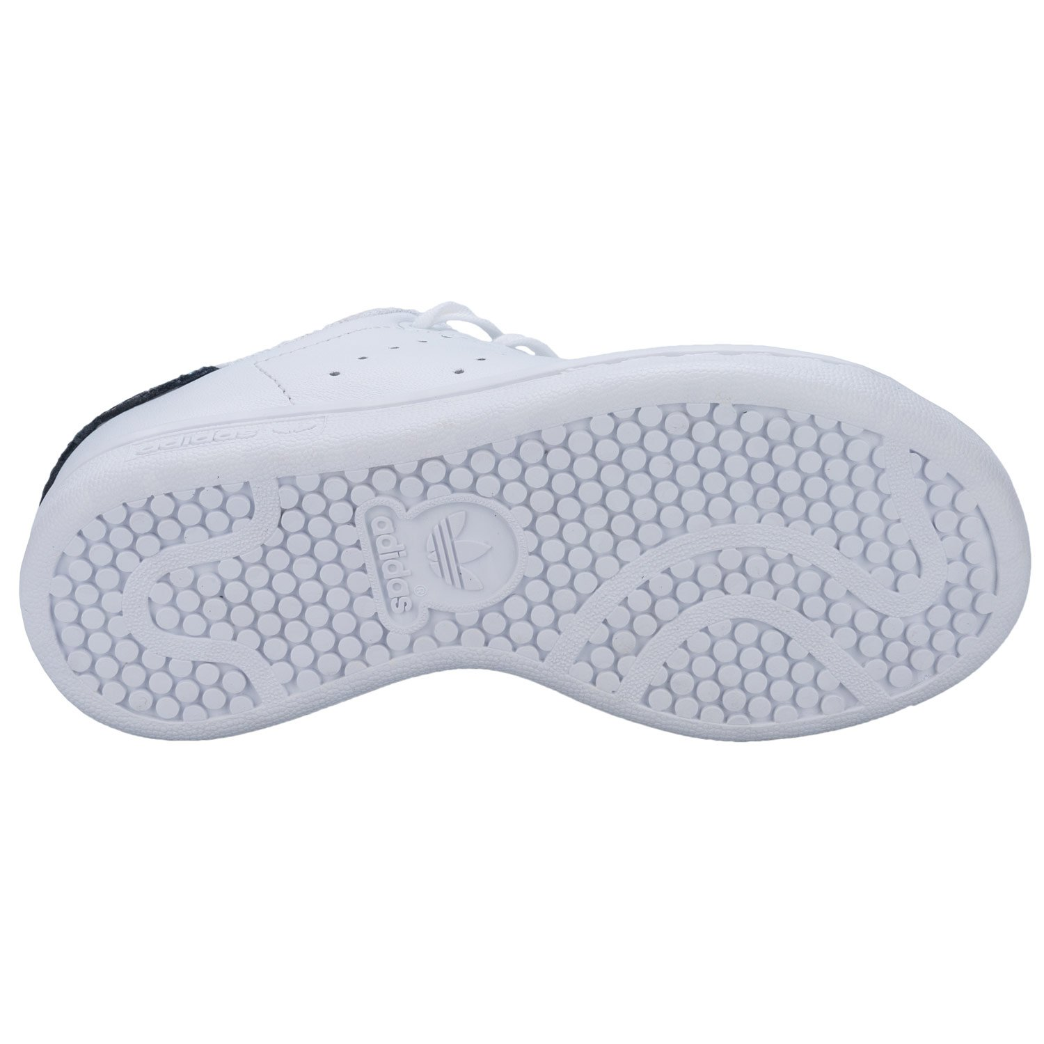 f425b39ab19f adidas Girls Originals Stan Smith Snake Trainers White-Lace  Fastening-Metallic  Amazon.co.uk  Shoes   Bags