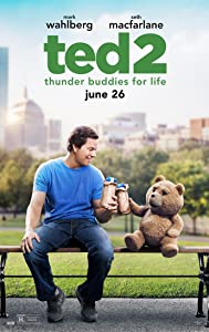TED 2 MOVIE POSTER 2 Sided ORIGINAL FINAL 27x40 SETH MCFARLINE MARK WAHLBERG