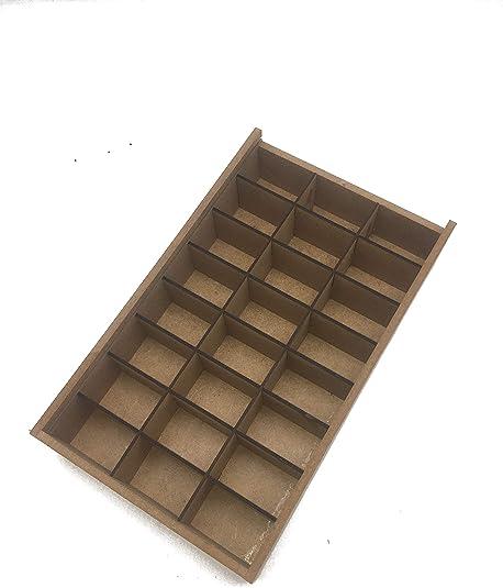 Wood Addicts Caja para Pequeños Objetos, Joyas, Perlas, Tornillos ...