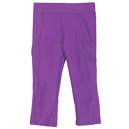 aa754f0a6cb47 Amazon.com: Purple Baby Girl Swim Capris with UPF50 Sun Protection by Sun  Smarties, 12 Month: Clothing