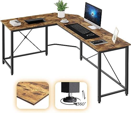Oneinmil L Shaped Computer Desk