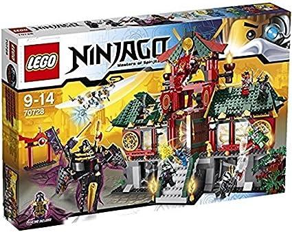 Amazon.com: LEGO Ninjago Batalla por la ciudad de Ninjago y ...
