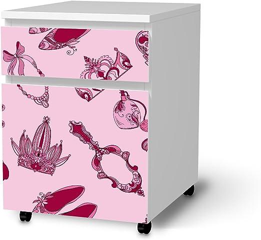 Muebles de protector de pantalla para cajón Element sobre ruedas, de Ikea Malm Pegatinas Niños de habitaciones Decorar Salón Ideas IKEA Muebles para niños de habitaciones Decoración | Kids Niños Crazy Robots: