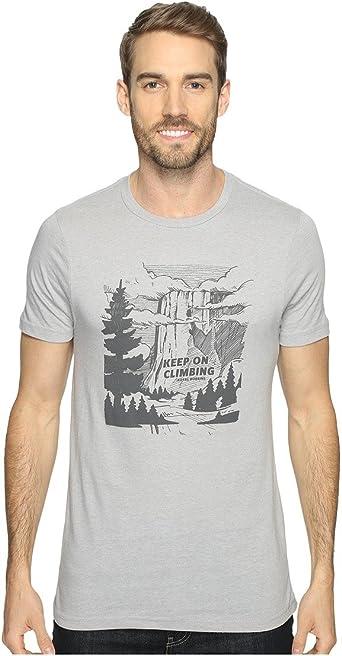 Royal Robbins Hombres de Mantener en Camiseta de Escalada