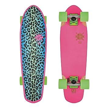 Relaxdays Childrens Mini Cruiser Skateboard