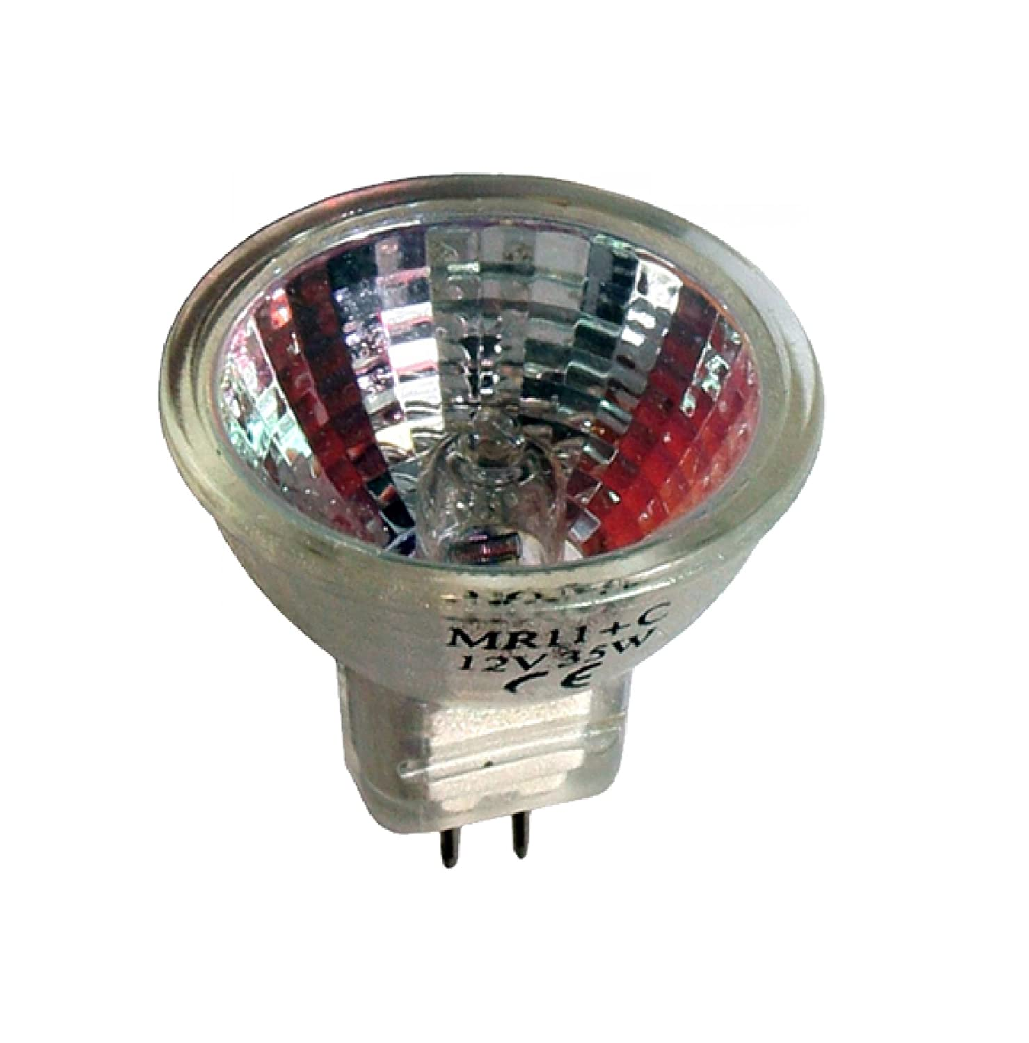 Pro-Lite 5w MR11 12v Halogen spot light bulb (GU4, fibre optics, low voltage) 044365
