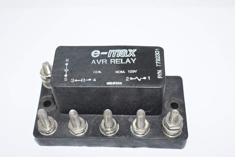 E-Max 7792301 AUX Voltage Relay Coil 129A