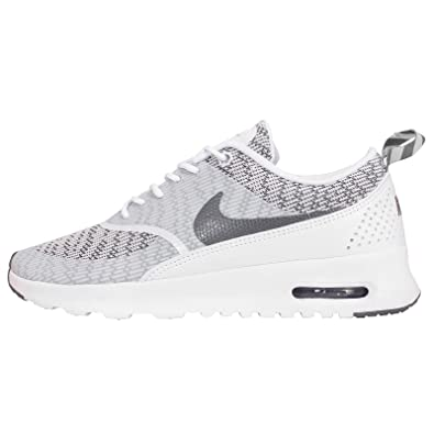 dffea3276 Nike Air Max Thea Jacquard Womens Trainers White Grey 718646 100 UK 5.5 EUR  39 US 8  Amazon.co.uk  Shoes   Bags