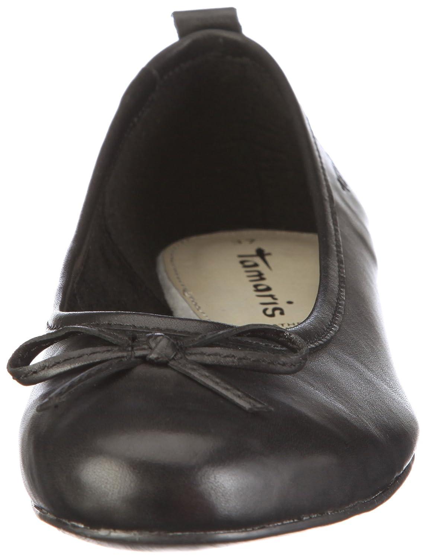Tamaris Black 1 1 22122 26 Damen Ballerinas