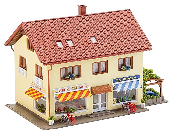 Faller 232336 Butchery/Bakery N Scale Building Kit