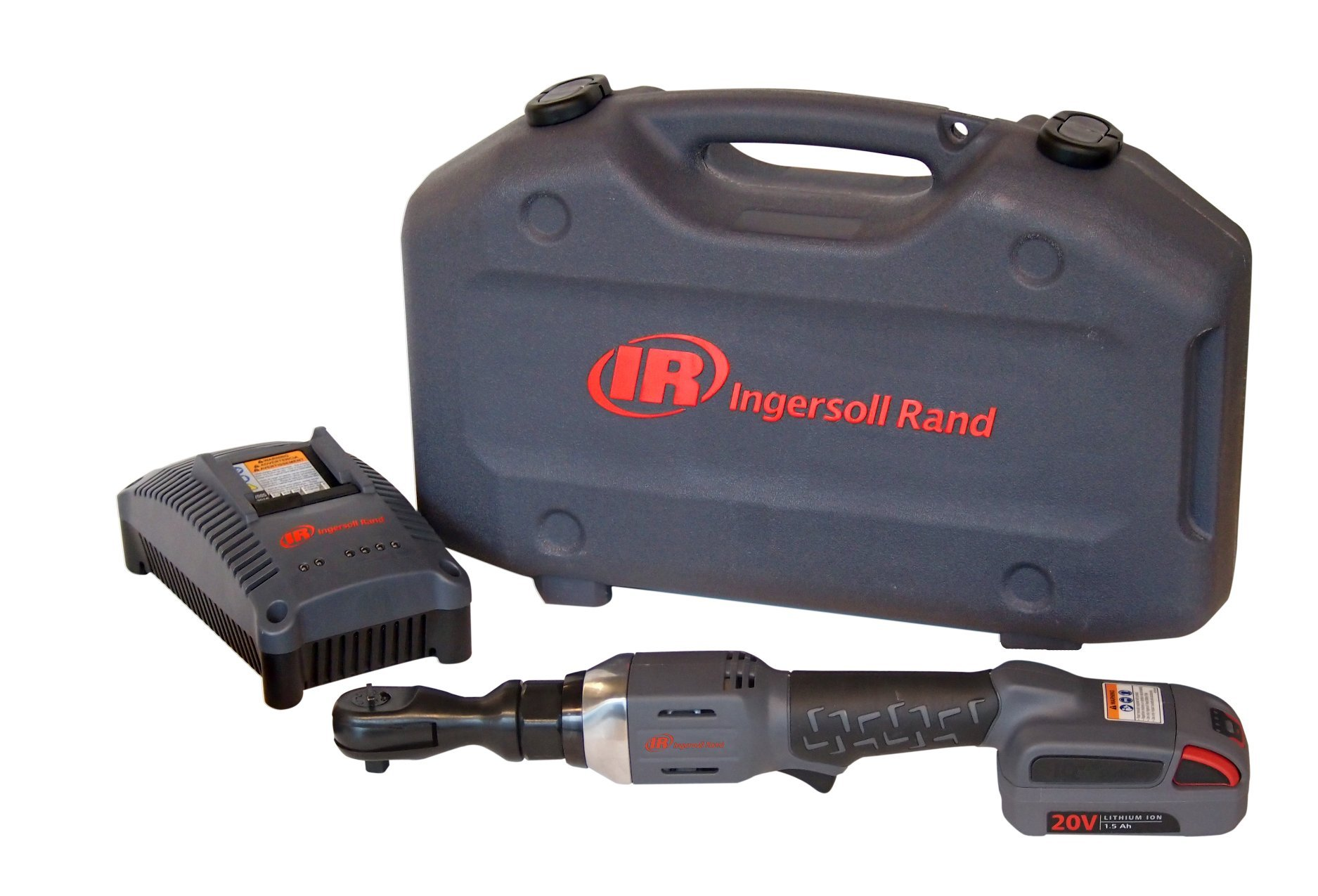 Ingersoll Rand R3130-K1 3/8-Inch Cordless Ratchet, 1 Li-on Battery, Charger and Case