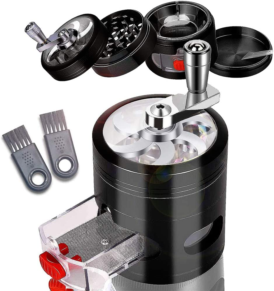 Details about  /Large Spice Grinder-4 Pcs 2.5 US Fast Shipping
