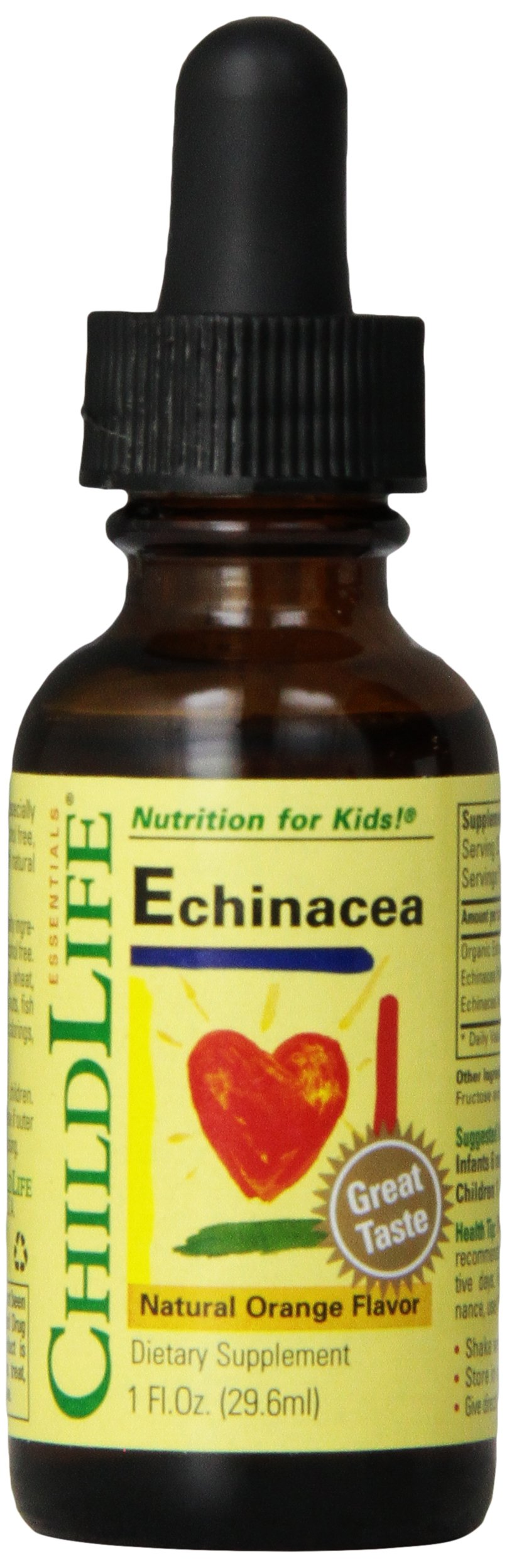 Child Life Echinacea, Glass Bottle, 1-Ounce