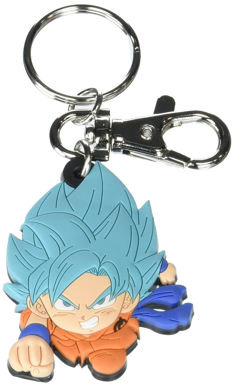 Amazon.com: Dragon Ball Llavero de PVC ~ Super ssgss Goku ...