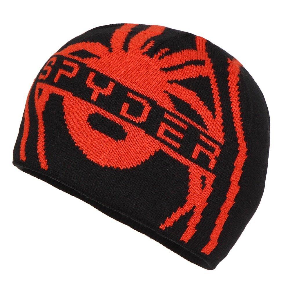 Spyder Boys Lucerne Hat, One Size, Black/Rage