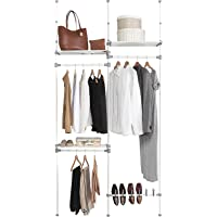Kit Closet Kit vestidor nº 4, Metal, 240/280