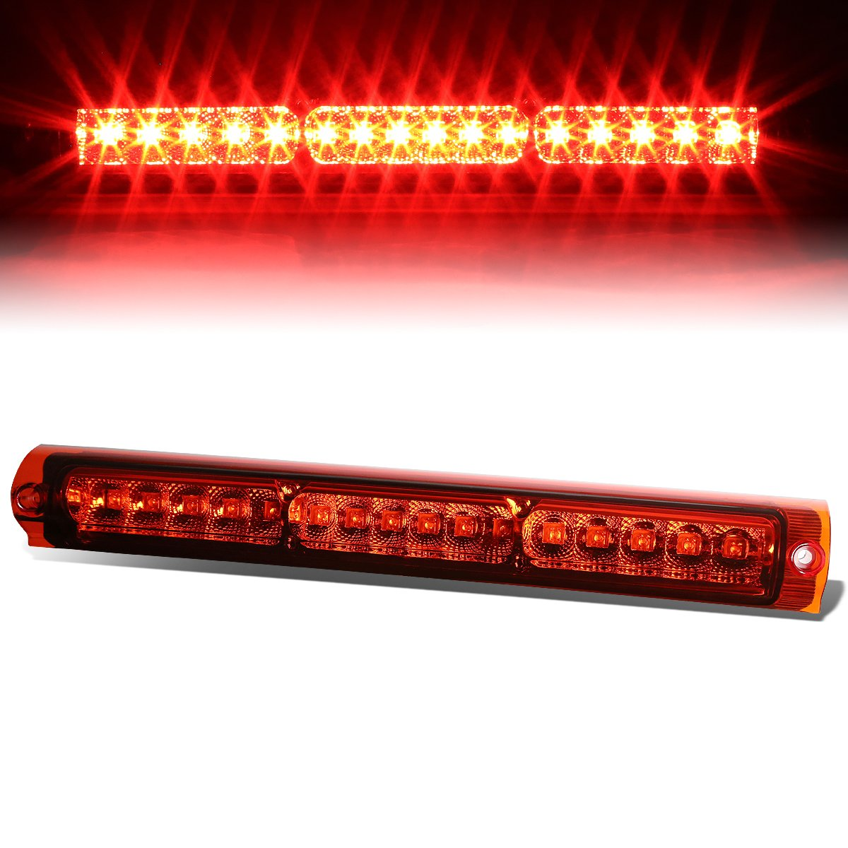 For Ford F150 / F250 / Excursion High Mount Centre High Mount LED 3rd Brake Light (Red Lens) Auto Dynasty