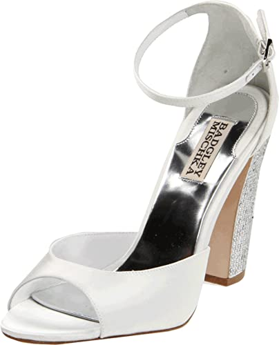 f489868bf8d Amazon.com  Badgley Mischka Women s Wynter Ankle-Strap Sandal ...