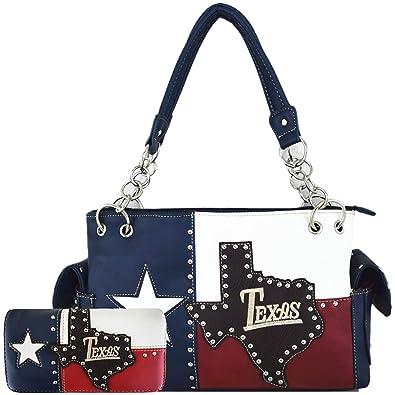 Amazon.com: The Lone Star Flag of Texas - Cartera oculta con ...