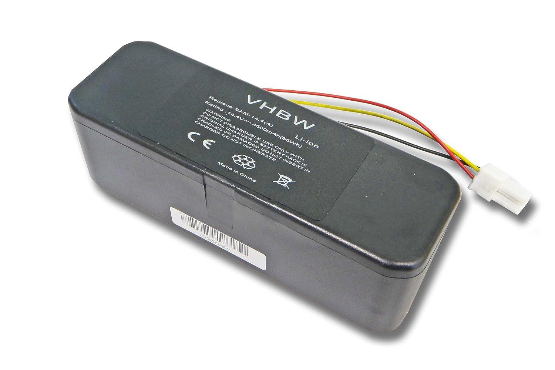 vhbw Li-Ion batería 4500mAh (14.4V) para aspiradora Samsung ...