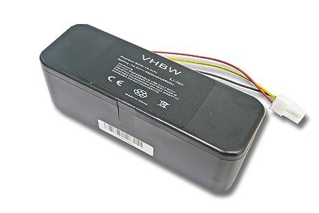 Batería Li-Ion 4500mAh 14.4V marca vhbw para aspiradoras Navibot SR8844, SR8845,