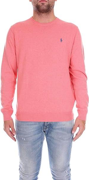 Polo Ralph Lauren 7106943850 Suéter Hombre Rosa L: Amazon.es ...