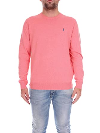 Polo Ralph Lauren 7106943850 Pull-Over Homme Rose L  Amazon.fr ... 415ff4d8aead