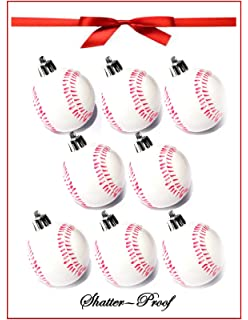 Amazon.com: Baseball Christmas Ornaments 1 Dozen: Kitchen & Dining