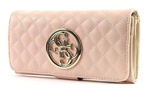Cartera Guess Bags G LUX SLG FILE CLUTCH en Rosa: Amazon.es: Zapatos y complementos