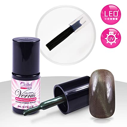 Ocibel - Esmalte semipermanente UV/LED para manicura, uñas postizas y Nail Art,